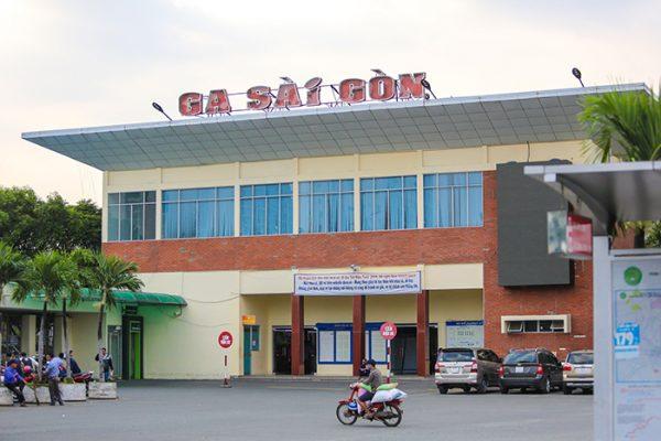 ga tàu hoả Sài Gòn