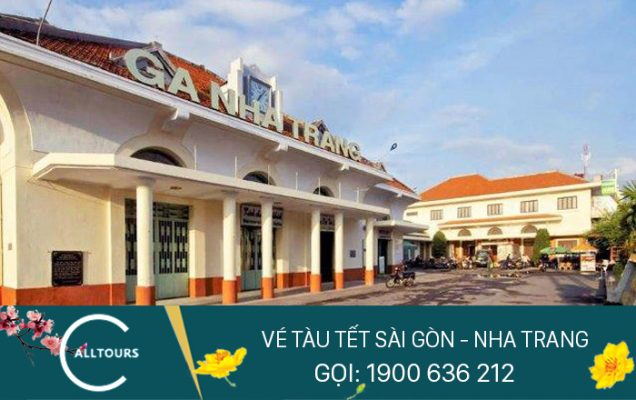 Vé tàu tết Canh tý 2020 Sài Gòn Nha Trang