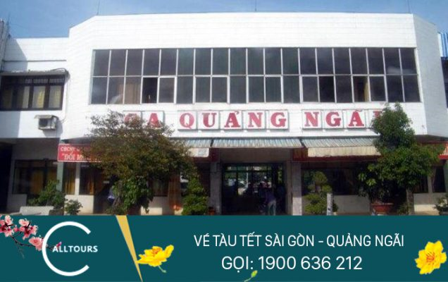 Vé tàu tết Canh tý 2020 Sài Gòn Quảng Ngãi