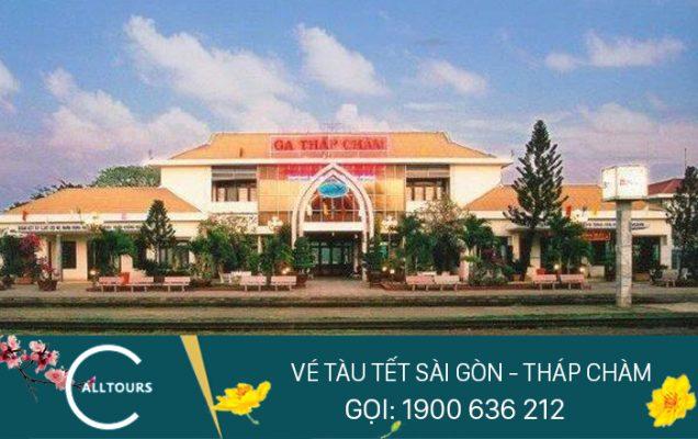 Vé tàu tết Canh tý 2020 Sài Gòn Tháp Chàm