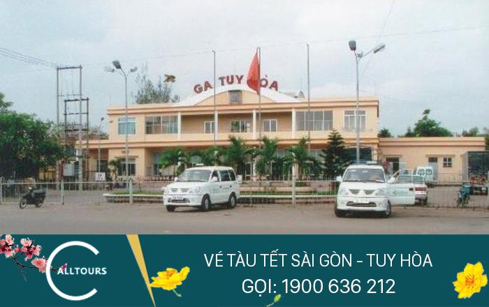 Vé tàu Tết Canh Tý 2020 Sài Gòn Tuy Hòa