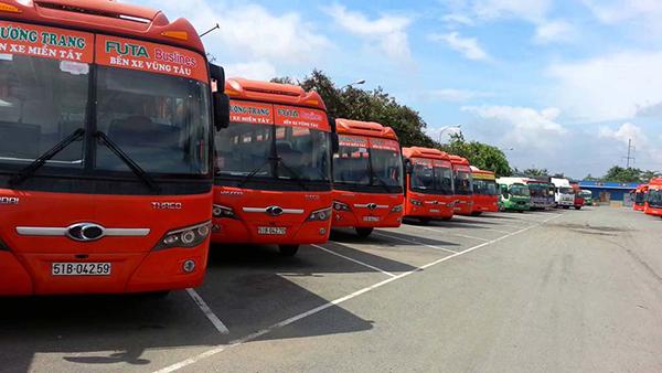 Xe khách từ ga Sài Gòn về Vũng Tàu