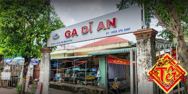 Vé tàu tết Sài Gòn Dĩ An 2021