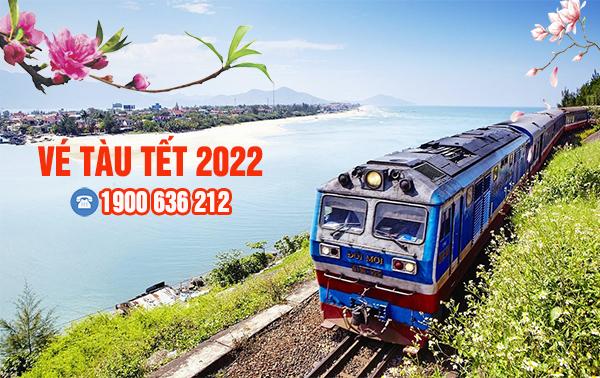 Vé tàu Tết 2022
